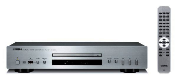 Yamaha CD-S300 CD-Player silber