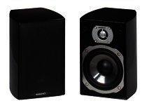 Quadral Chromium Style 20 - Kompaktlautsprecher - schwarz hochglanz, Paar!