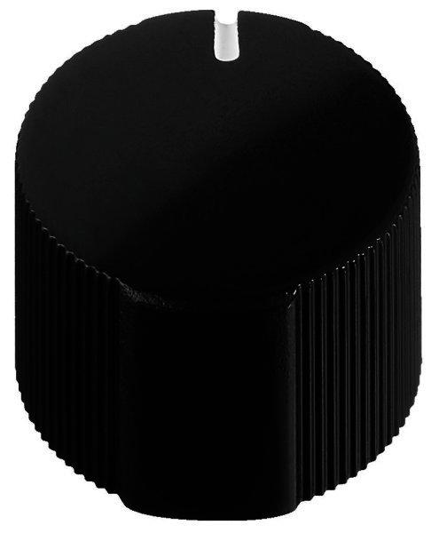 KN-15 - Drehknopf Presssitz Ø 15mm, Achsen Ø 6mm