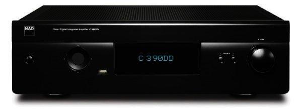 NAD C390DD - Digitaler NAD Vollverstärker 2x160 Watt - schwarz, graphite