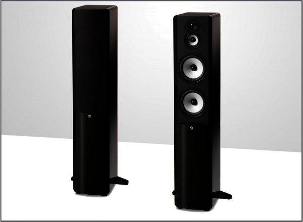 "Boston Acoustics A360 Stand-Lautsprecher 3 Wege 6,5"" Schwarz Paar"