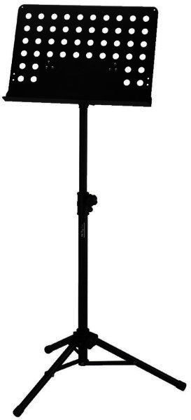 MSS-20/SW - Professioneller Notenständer Höhe 102-153cm
