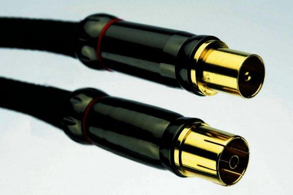 Silent Wire Antennenkabel m/w Kabelanschluß DVB-T - DVB-K - Series 4 mk2