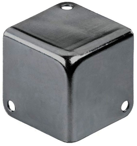 MZF-8502 - Metall-Kofferecken, Metallecken 41x41x41mm