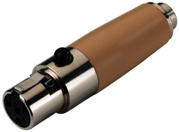 NTA-4M 4-Pol Mini-XLR-Kupplung 2,5mm Klinkenkupplung