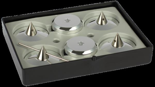 Audio Selection Spike und Disc, groß für Lautsprecher
