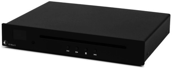 RETOURE - Pro-Ject CD Player - CD Box S - CD Spieler in schwarz