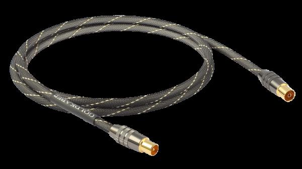 Goldkabel Antennenkabel 120dB aus der Edition Serie