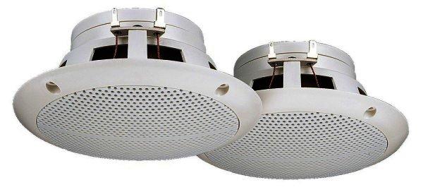 CRB-230/WS - Einbaulautsprecher, 50 Watt, weiß, Paar