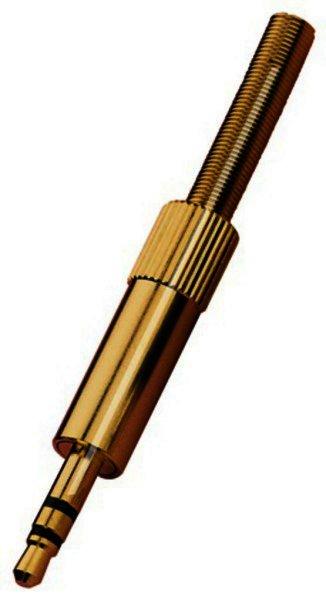 PG-303PG - 3,5-mm-Stereo-Klinkenstecker