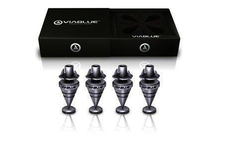 ViaBlue HS Spikes mit M6 Gewinde - 4 Stück, Silber