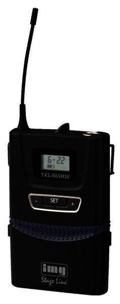 TXS-865HSE - Mikrofonsender für Mikrofone, hohe Reichweite, REMOSET 506-542 MHz