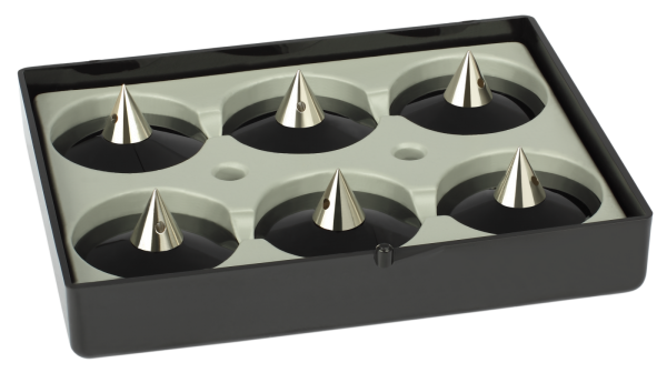 Audio Selection Spike Set, groß, justierbar, für Lautsprecher