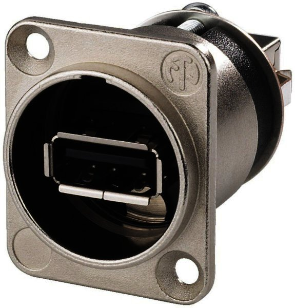 NAUSBW - USB-Durchgangs-Einbaubuchse