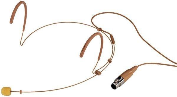 HSE-130/SK Kopfbügelmikrofon Kugelcharakteristik 3-polig Mini XLR