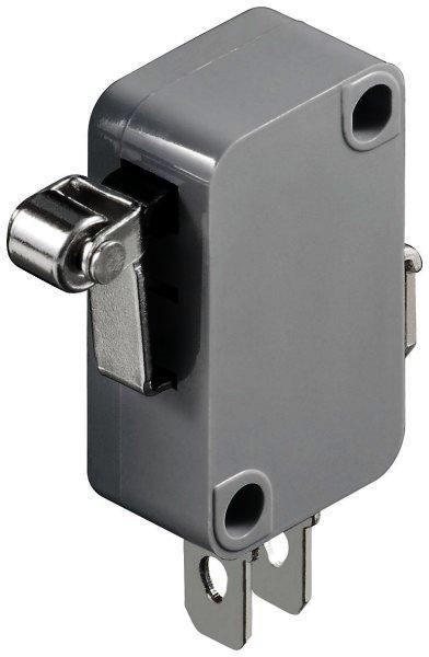 Mikroschalter Wechselschalter / 1 polig - mit kurzem Rollenhebel max. Werte: 5A / 125 VDC / 250 VA