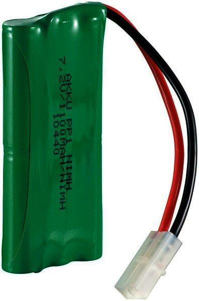 Akku Ni-Mh Racing-pack 7,2 V. 1100 mA mit Tamiyastecker max. Entladestrom: 2200mAh max. Kurzz