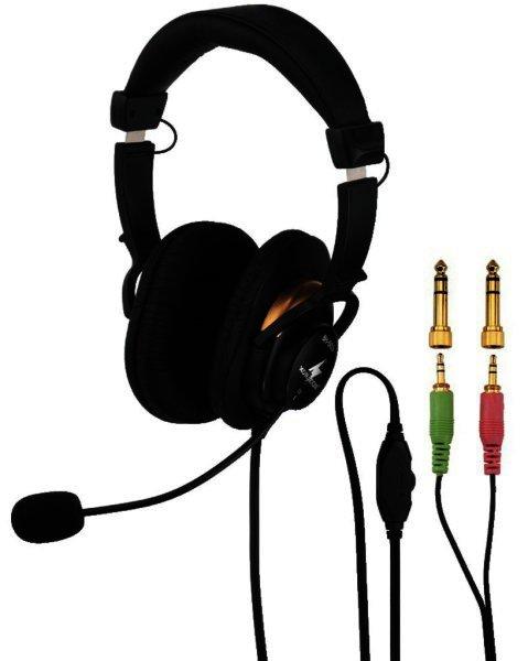 BH-003 - Stereo-Kopfhörer mit Elektret-Bügelmikrofon