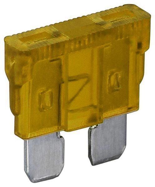 Kfz-Sicherung gelb