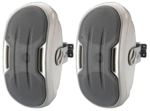 MKS-248/WS Design Wandlautsprecher Paar, weiß, 60 Watt