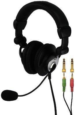 BH-005 - DJ-Stereo-Kopfhörer mit Elektret-Bügelmikrofon