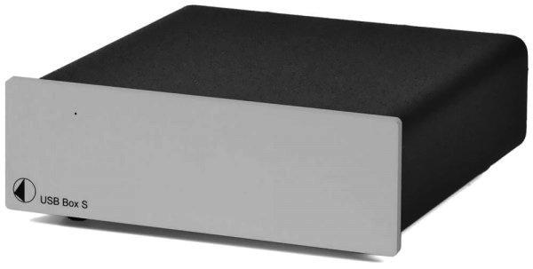 RETOURE Pro-Ject USB Box S - D/A Wandler für Computer - Soundkarte Silber