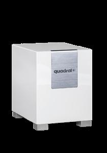 Quadral QUBE 8 - aktiver Subwoofer - weiß hochglanz
