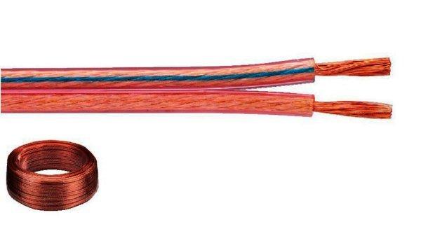 SPC-15 - Lautsprecherkabel 2x1,5 mm² - 50 Meter