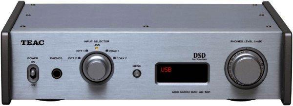 TEAC UD-501 DSD / PCM fähiger DA-Wandler DAC - silber