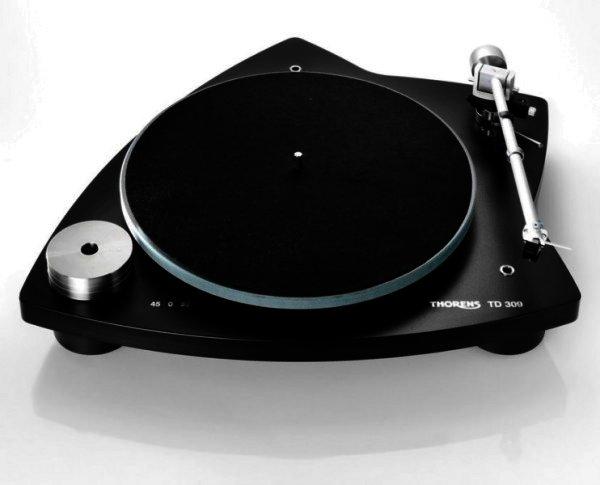 Thorens TD 309 - manueller Plattenspieler - schwarz