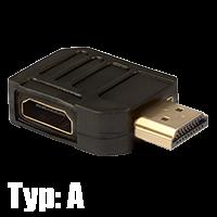 HDMI Winkeladapter Typ A