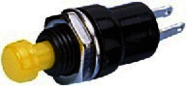 M-312/GE - Miniatur-Drucktaster 1-polig, Gelb