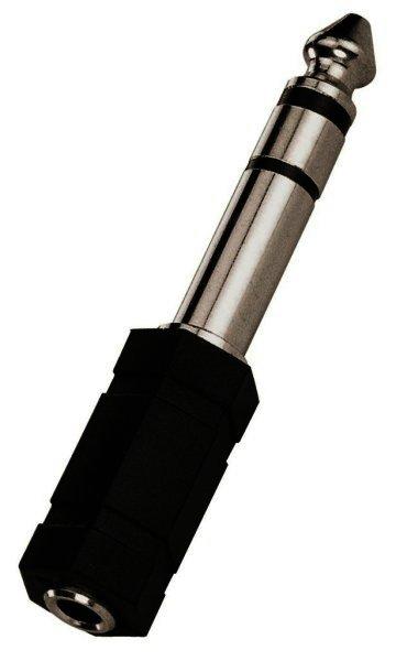 HA-37 - 6,3mm Stereo Klinkenstecker auf 3,5mm Kupplung