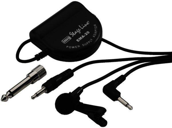 ECM-2500 Elektret-Krawatten-Mikrofon mit Speiseadapter