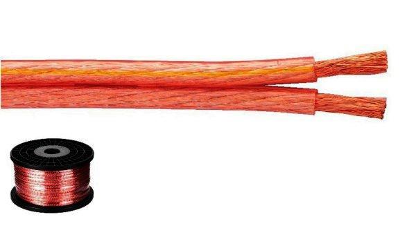 SPC-140 - Lautsprecherkabel 2x4,0mm² - 100 Meter