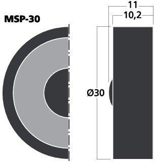 MSP-30 - Mikrofon / Lautsprecher ideal für Modellbau