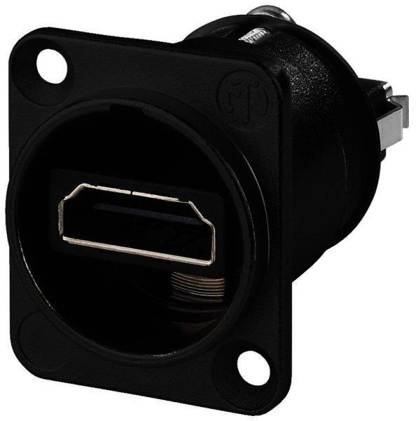 NAHDMIWB - HDMI-Durchgangs-Einbaubuchse