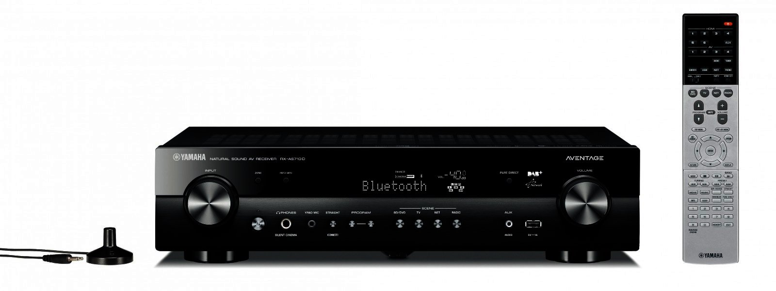 yamaha rx as710d heimkino receiver av receiver kaufen musikus hifi shop. Black Bedroom Furniture Sets. Home Design Ideas