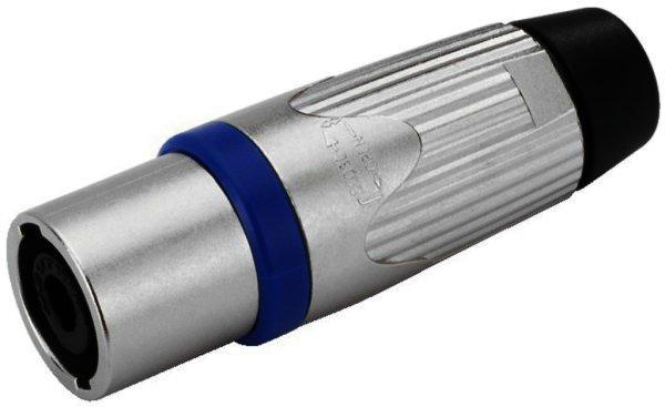 NLT-4MX - NEUTRIK Speakon Kupplung / Buchse 4-poliger Lötanschluss