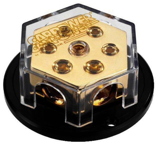 CPD-6G - 4-fach-Kabelverteiler, 2 x Ø 12mm, 4 x Ø 8mm