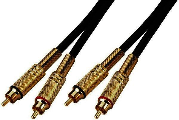 GAC-100/2 - Cinchkabel - Audio-Video-Verbindungskabel 1 Meter