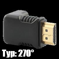HDMI Winkeladapter 270°