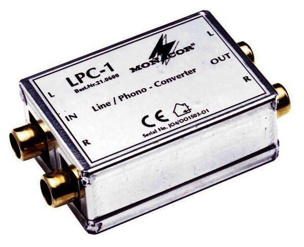LPC-1 - Line Phono Adapter Cinch