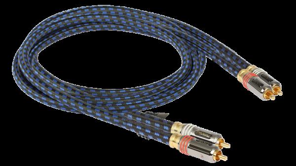 Goldkabel Cinch Kabel aus der Highline Serie