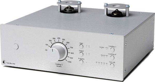 Pro-Ject Tube Box DS2 Phonovorverstärker in silber
