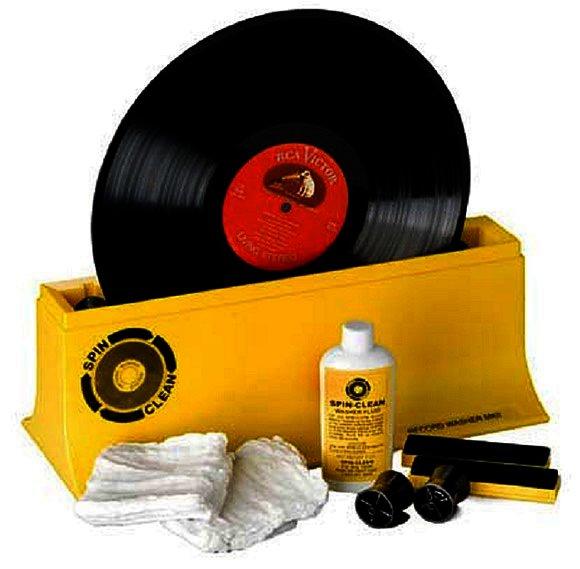 Spin Clean® Mechanische Plattenwaschmaschine für Schallplatten