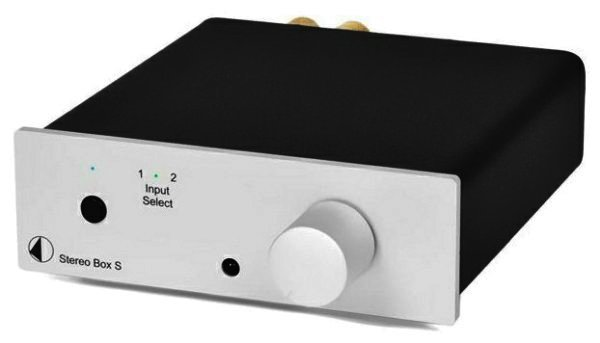 RETOURE - Pro-Ject Stereo Box S - Stereo Verstärker - SILBER