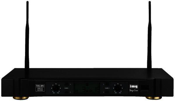 TXS-891 - 2 Kanal Funkmikrofon Empfänger 863-865 MHz - Funkmikrofonempfänger