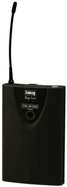 TXS-891HSE - Mikrofonsender 863-865 MHz für Funkmikrofone, 3-pol. XLR Anschluss