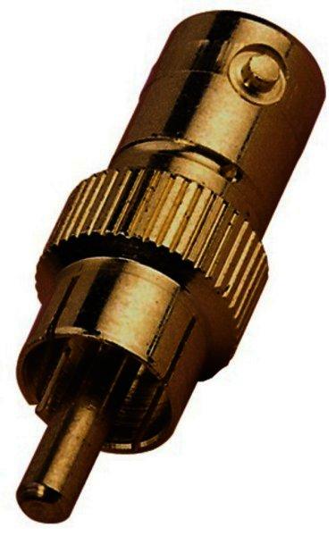 NC-1524G Adapter BNC-Buchse / Cinch-Stecker, vergoldet